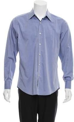 Barneys New York Barney's New York Woven Button-Up Shirt