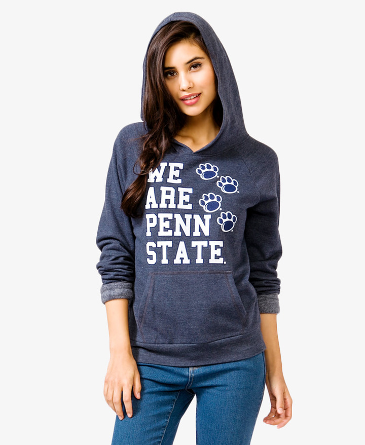 Forever 21 Penn State® Paw Print Hoodie