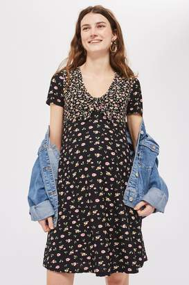 Topshop **Maternity Floral Tea Dress