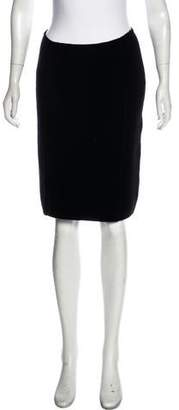 Bruno Manetti Cashmere & Wool-Blend Skirt