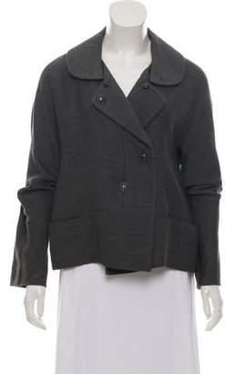 Chloé Wool & Linen-Blend Jacket