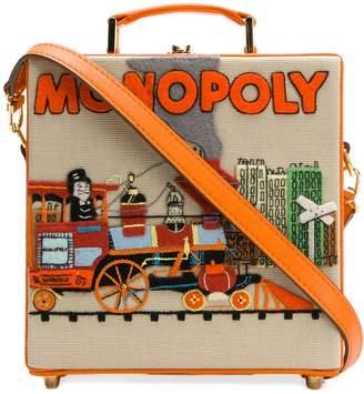 Olympia Le-Tan Monopoly Train clutch bag