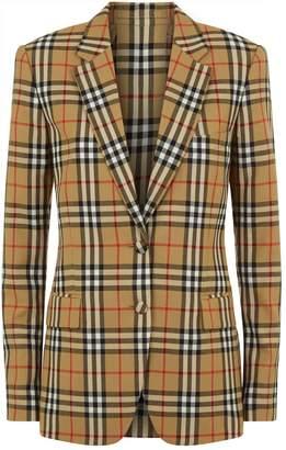 Burberry Vintage Check Blazer