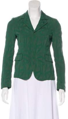 Marni Peak-Lapel Long Sleeve Jacket
