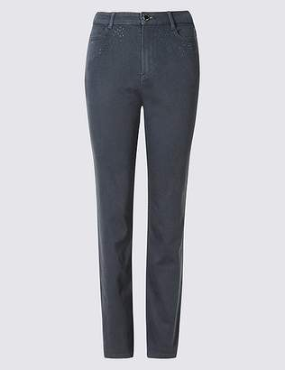 Marks and Spencer Bling Straight Leg Jeans