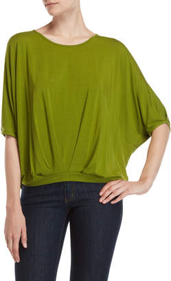 Patrizia Luca Split Cold Shoulder T-Shirt Top