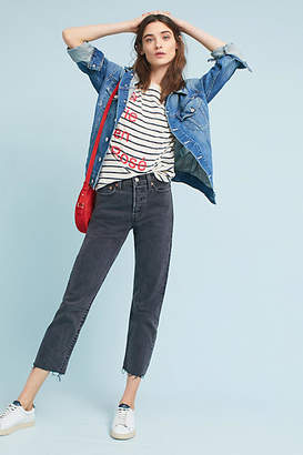 Levi's Wedgie High-Rise Straight Jeans