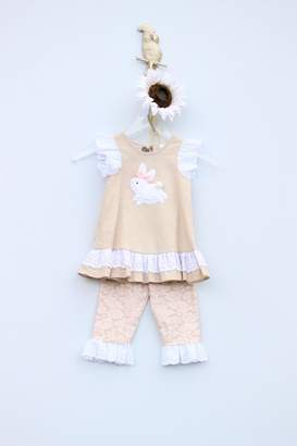 N. Peaches 'N Cream Bunny Tunic Set