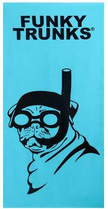 Funky Trunks Snorkel Pug Towel