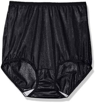 6c67e02e0c04 Shadowline Women's Panties-Nylon Brief (3 Pack)