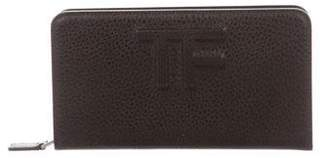 Tom Ford Leather Logo Wallet
