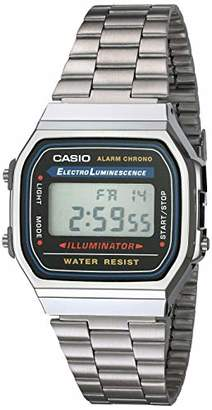 Casio Men's A168WA-1 Electro Luminescence Watch