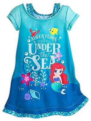 Disney Ariel Nightshirt for Girls Size 5/6
