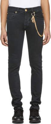 Pierre Balmain Black Chain Jeans