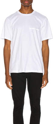 Helmut Lang Laws Tee in Chalk White | FWRD