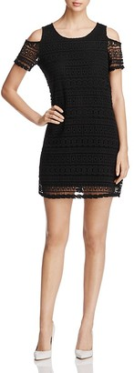 Design History Crochet Cold Shoulder Dress $128 thestylecure.com