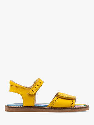 Boden Mini Children's Leather Padded Sandals