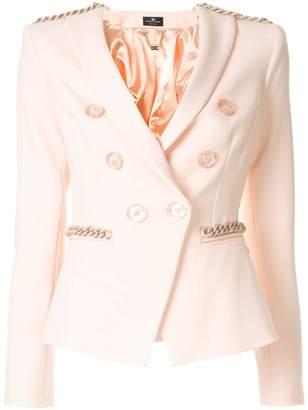 Elisabetta Franchi fitted blazer jacket