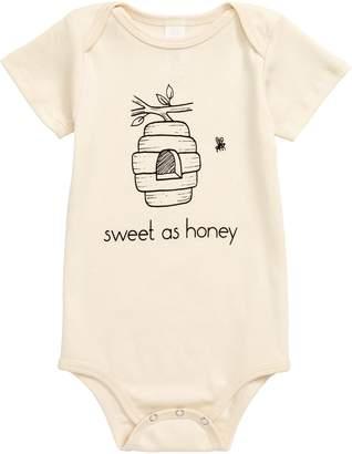 Tenth & Pine Sweet as Honey Organic Cotton Bodysuit