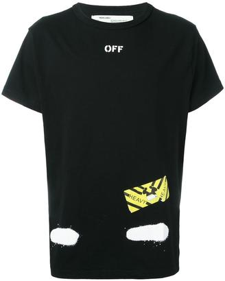 Off-White 'Diag Spray' T-shirt $270 thestylecure.com