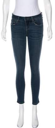 DSTLD Mid-Rise Skinny Jeans