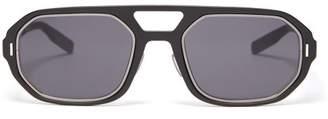 Christian Dior Sunglasses - D Frame Acetate Sunglasses - Mens - Black