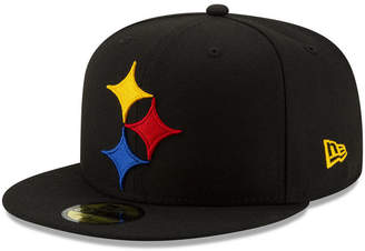 e044d8b8 New Era Pittsburgh Steelers Logo Elements Collection 59FIFTY Fitted Cap