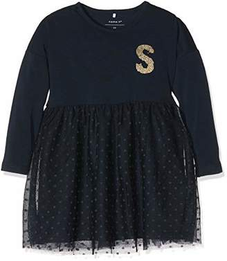 Name It Baby Girls' Nmfnalla Ls Dress