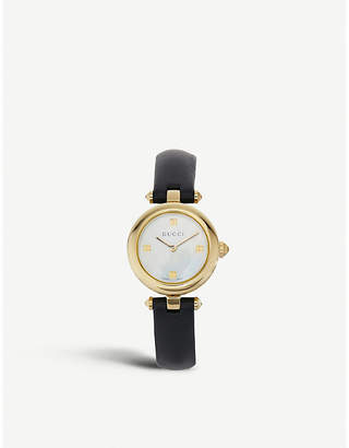 Gucci YA141505 Diamantissima stainless steel watch