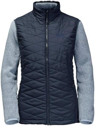 Jack Wolfskin Women's Caribou Glen 3-in-1 Vest & Fleece Set from Eastern Mountain Sports