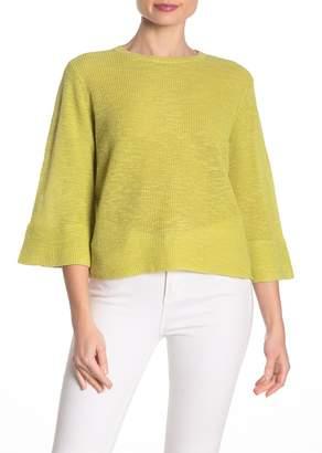 Eileen Fisher Organic Linen Blend Top (Petite)