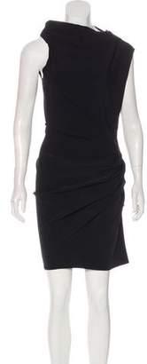Lanvin Ruched Mini Dress