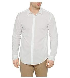 Jac + Jack Long Sleeve Folded Collar Shirt