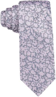 Ryan Seacrest Distinction Men's Palisades Floral Slim Tie, Created for Macy's $59.50 thestylecure.com