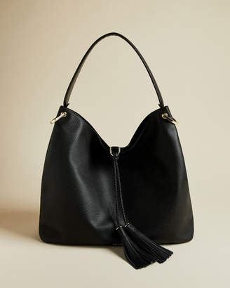Ted Baker DEMMI Large tasselled hobo bag