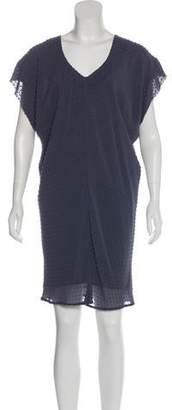 Balenciaga Textured Knee-Length Dress