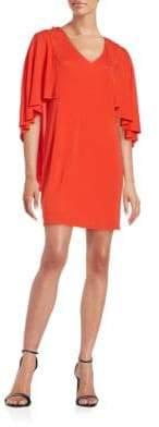 Trina Turk Marino Capelet Dress