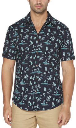 Cubavera Mens Short Sleeve T-Shirt-Big and Tall