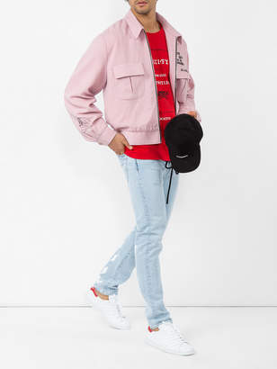 Gucci Fashion show invite print cotton t shirt