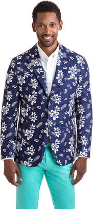 Vineyard Vines Floral Cotton/Linen Sport Coat