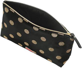 Cath Kidston Button Spot Poly Zip Cosmetic Bag