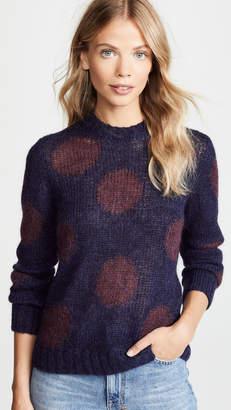 AG Jeans Ansley Polka Dota Sweater