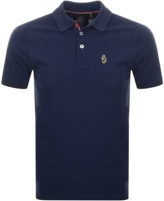Luke 1977 New Mead Polo T Shirt Navy