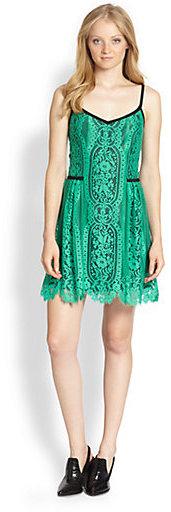 Nanette Lepore Basil Carousel Lace Dress