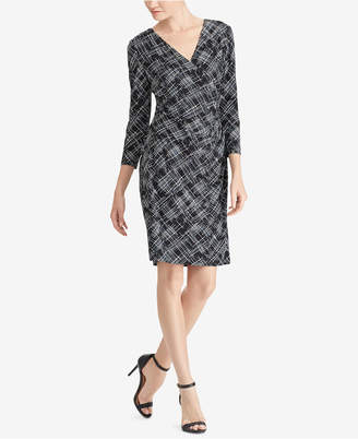 American Living Printed Sheath Dress