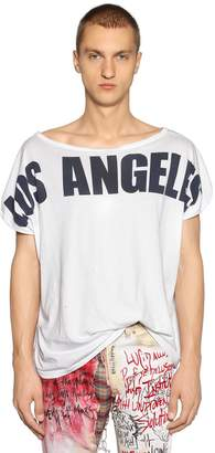 Faith Connexion Los Angeles Printed Jersey T-Shirt