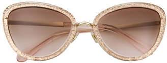 Kate Spade Cat Eye 57mm Sunglasses