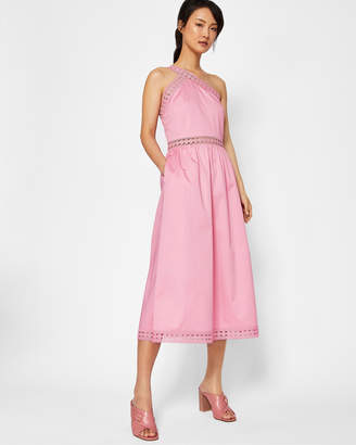 f3cf3da1c8b2c9 Ted Baker KALLII Asymmetric cotton dress