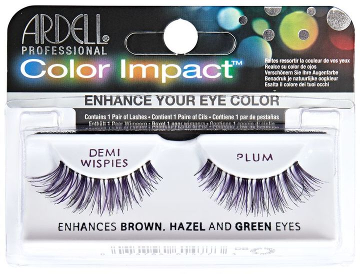 Ardell Color Impact Lashes Demi Whispie Plum