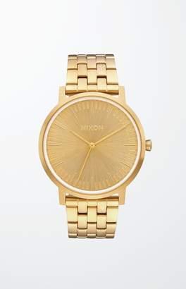 Nixon Gold Porter Watch
